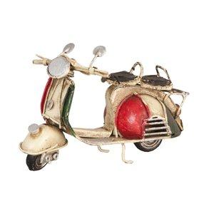 Clayre & Eef Scooter in rood, wit en groen