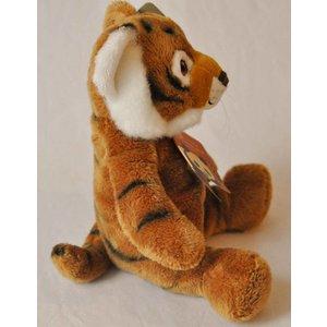 Anna Plush Zittende bruine tijgerwelp
