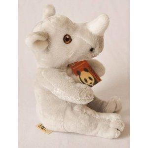 Anna Plush Zittende baby neushoorn