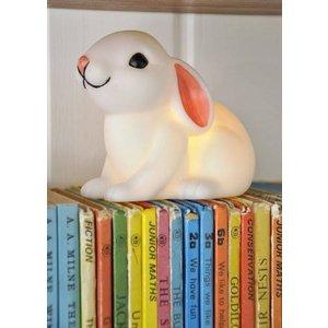 Woodland Nachtlampje liggend konijntje