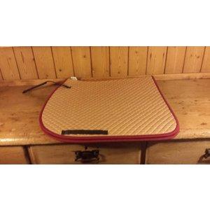 Geel/Rood dekje Full Dressuur
