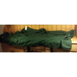 Merkloos groene zweetdeken 185 cm