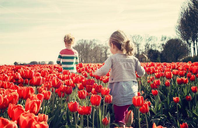 Dit zijn leuke dingen om te doen met kinderen in de lente