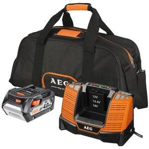 AEG L1840BL 4,0Ah Accu + BL1218 Lader