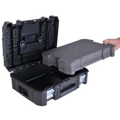 ACTIE DeWalt Tacker + Nagels + TSTAK-koffer!