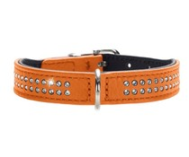 Hunter Halsband Diamond Petit orange