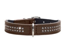 Hunter Halsband Diamond Petit brown