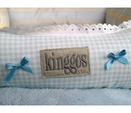 Kinggos Mandje blue tone