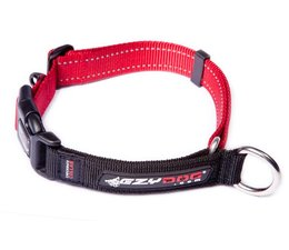 Ezy Dog Halsband Checkmate rood