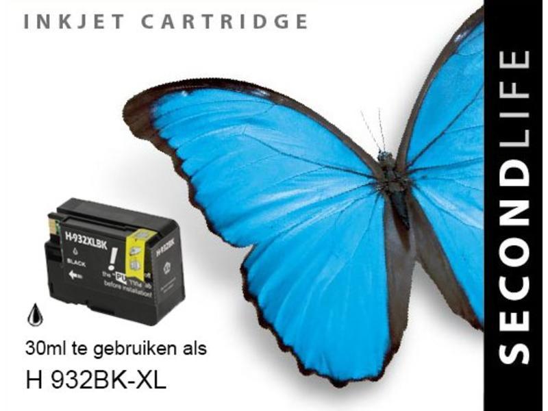 SecondLife HP 932 XL BK