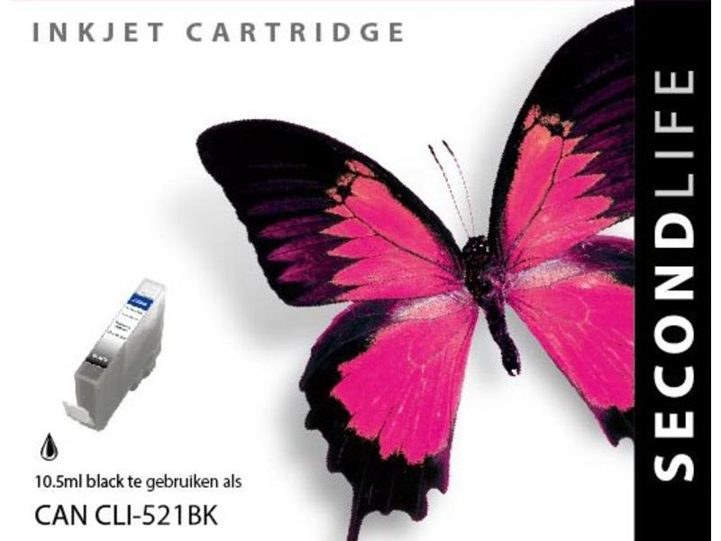 SecondLife Canon CLI 521 BK