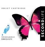 SecondLife Canon CLI 521 Cyan