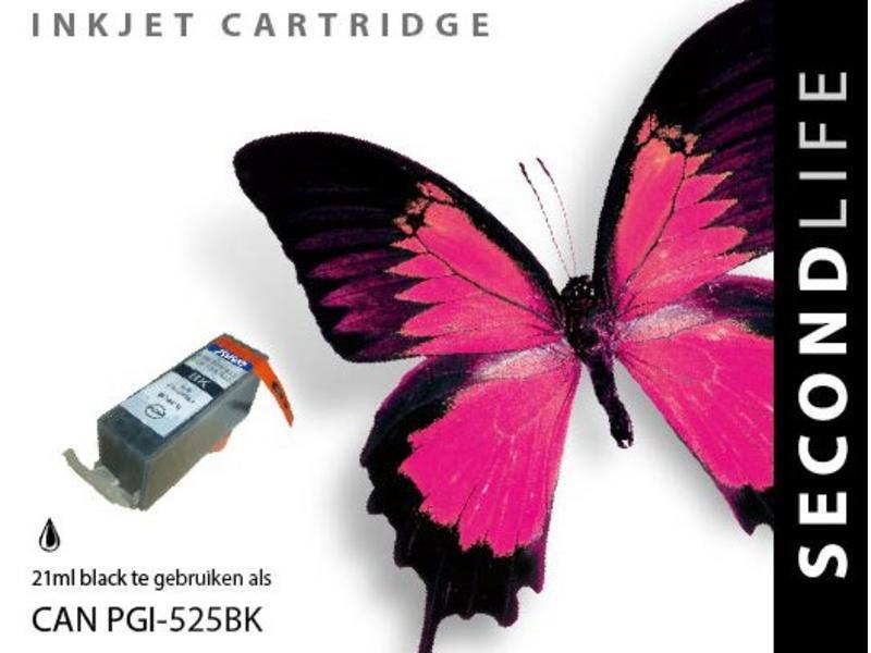 SecondLife Canon PGI 525 BK