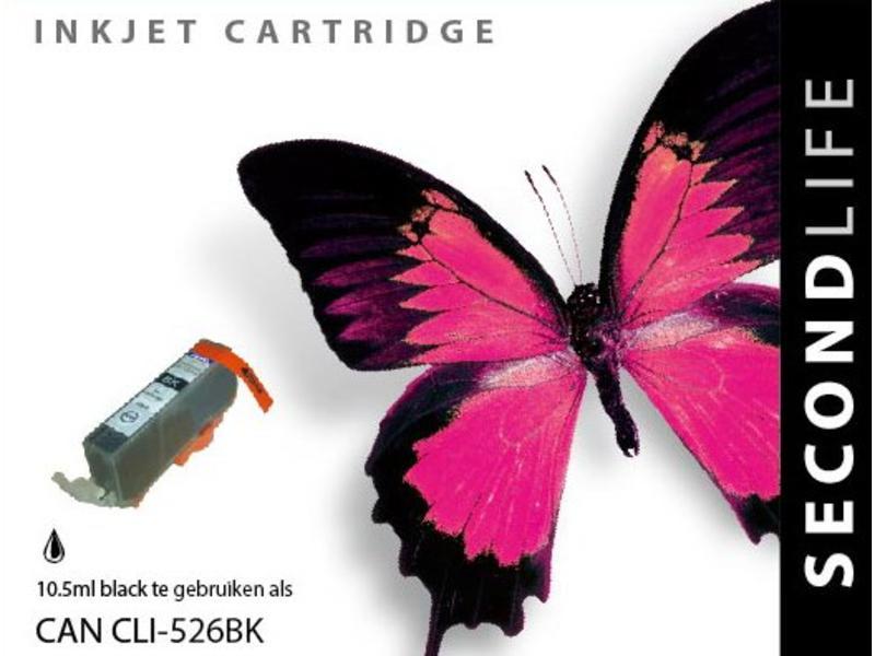 SecondLife Canon CLI 526 BK