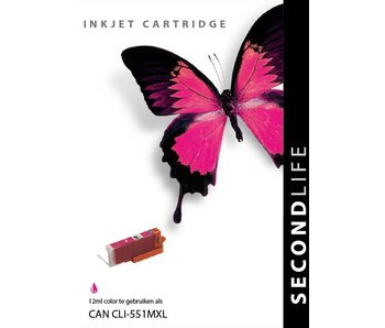 SecondLife Canon CLI 551 Magenta