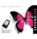 SecondLife Canon PG 540 XL Black