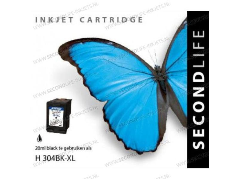 SecondLife Replacement SL for HP 304 XL Black