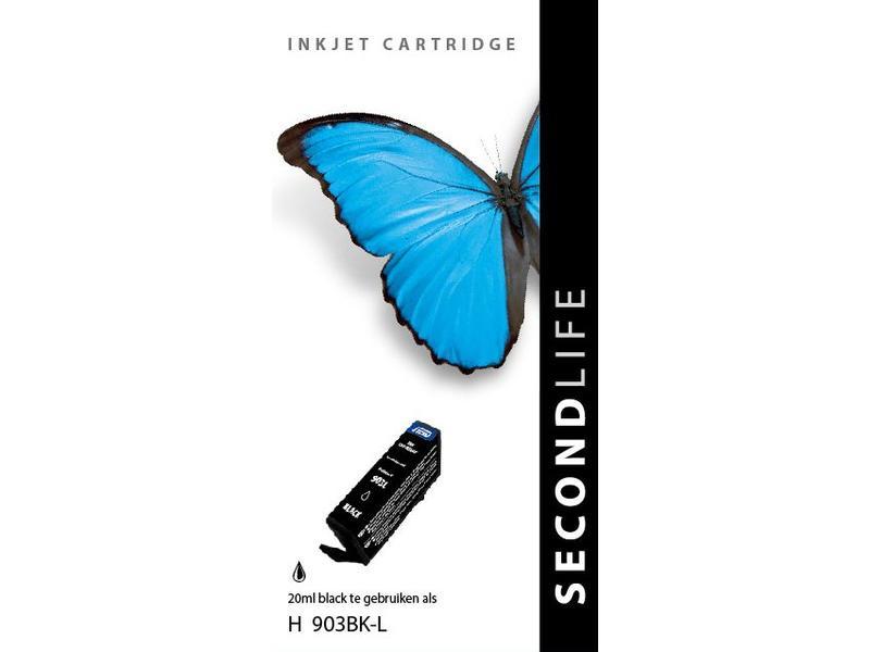 SecondLife SecondLife - HP 903 XL Black