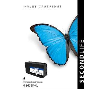 SecondLife SecondLife - HP 953 XL Black