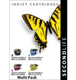 SecondLife SecondLife - Multipack Brother LC 3219 XL BK, C, M en Y