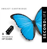 SecondLife Replacement SL for HP 934 Black