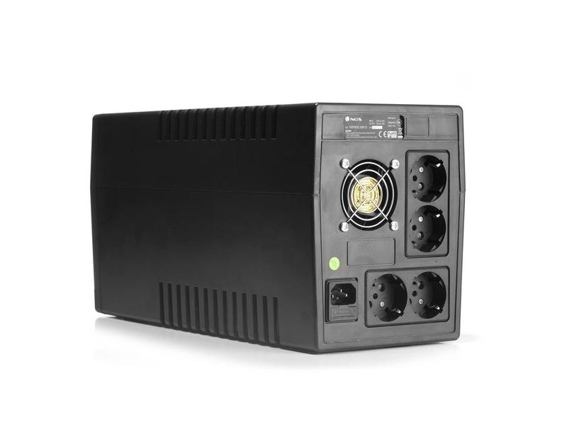 NGS  NGS UPS FORTRESS 2000V2 - OFF LINE - UPS - 900W - AVR SCHUKO PLUG X 4 -