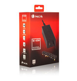 NGS 45W - universele laptop / notebook adapter - 45W - Automatisch - 8 tips - Dell - HP - Lenovo - Acer - Asus