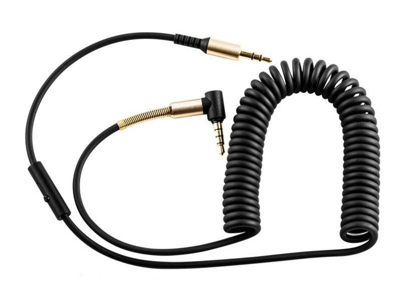 HOCO Hoco Aux Spring Audio Cable with Mic (2M)