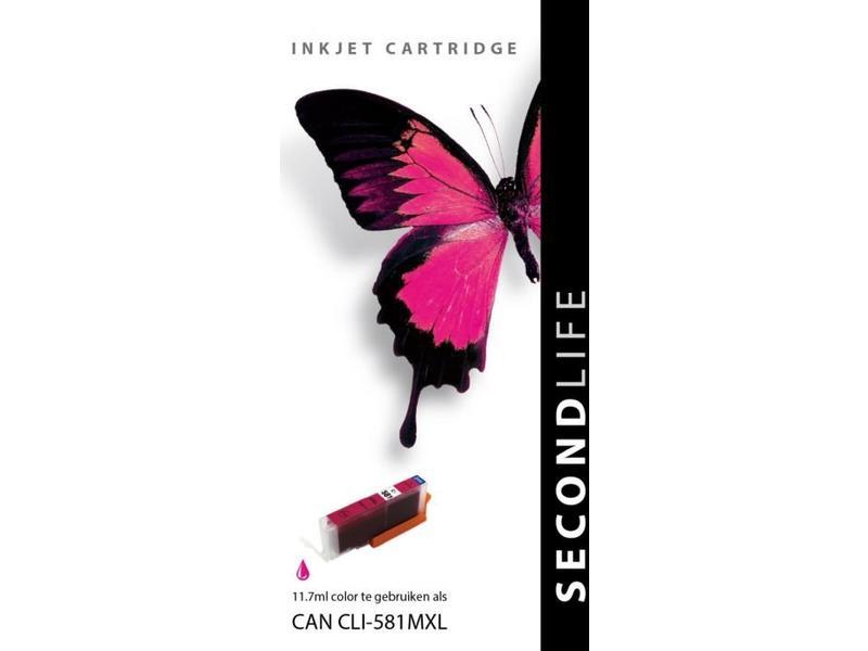 SecondLife SecondLife - Canon CLI 581 XL Magenta