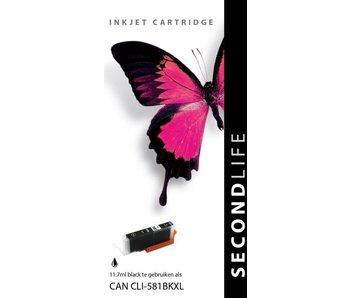 SecondLife SecondLife - Canon CLI 581 XL Black