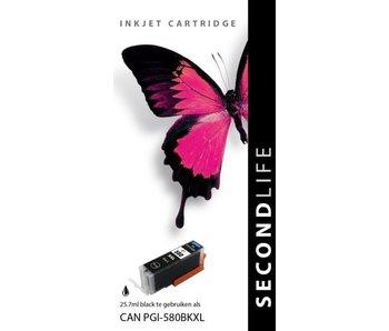 SecondLife SecondLife - Canon CLI 580 XL Black