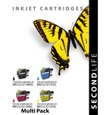 SecondLife SecondLife - Multipack Brother LC 3213 XL BK, C, M en Y