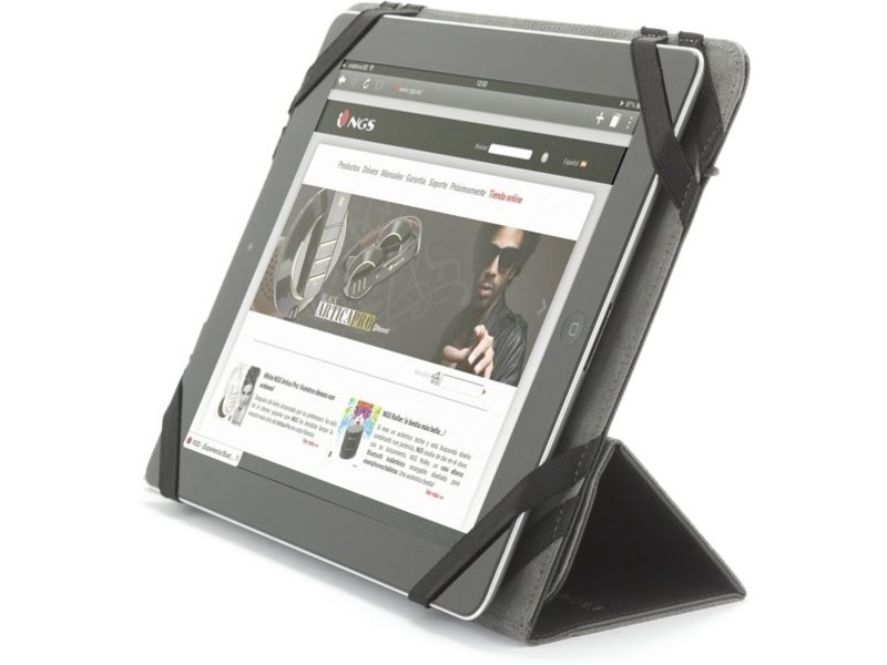 NGS NGS Tab Plus - Folioblad, Merkcompatibilite 10 inch