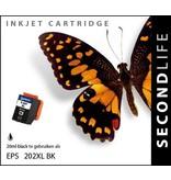 SecondLife SecondLife - Epson 202 XL Black