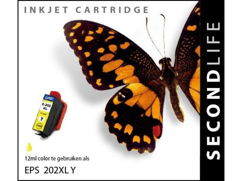 SecondLife SecondLife - Epson 202 XL Yellow