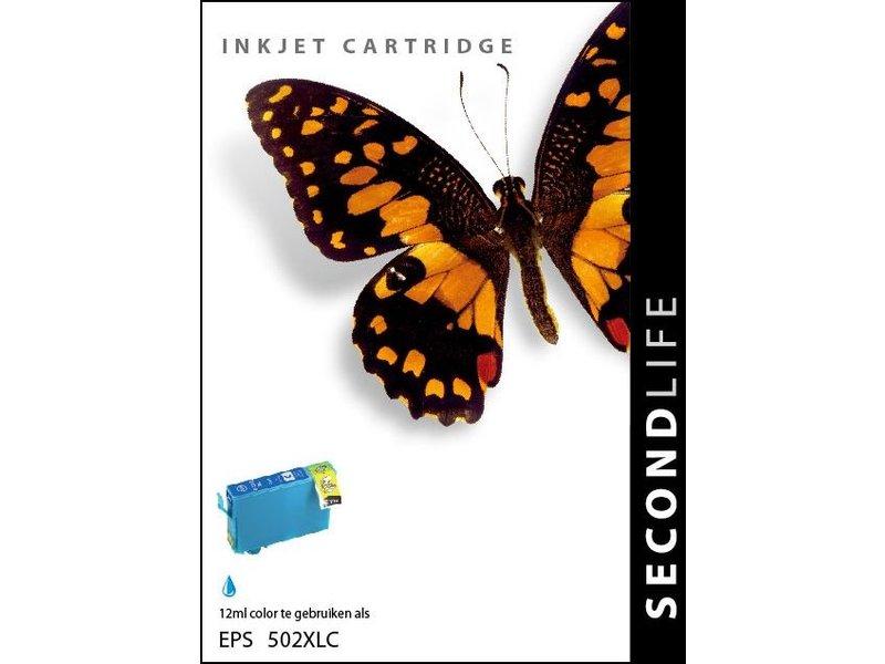 SecondLife SecondLife - Epson 502 XL Cyan