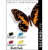 SecondLife SecondLife - Multipack Epson 502 XL BK, C, M & Y