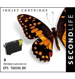 SecondLife SecondLife - Epson 603 XL Black