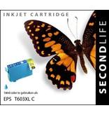 SecondLife SecondLife - Epson 603 XL Cyan