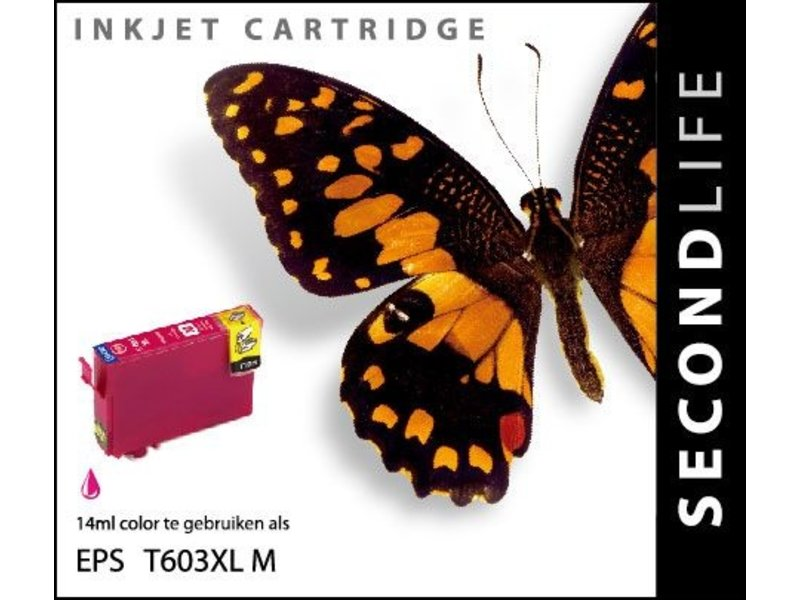 SecondLife SecondLife - Epson 603 XL Magenta