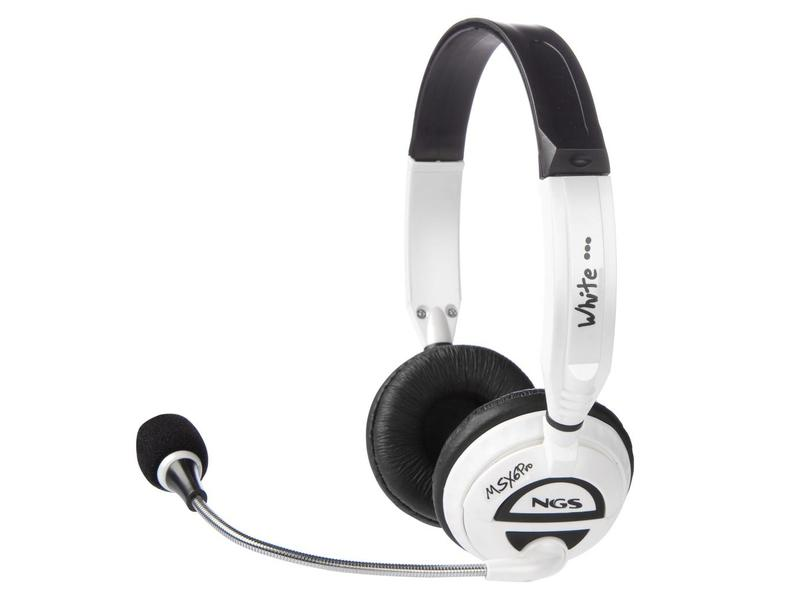 NGS MSX6 PRO White Headset