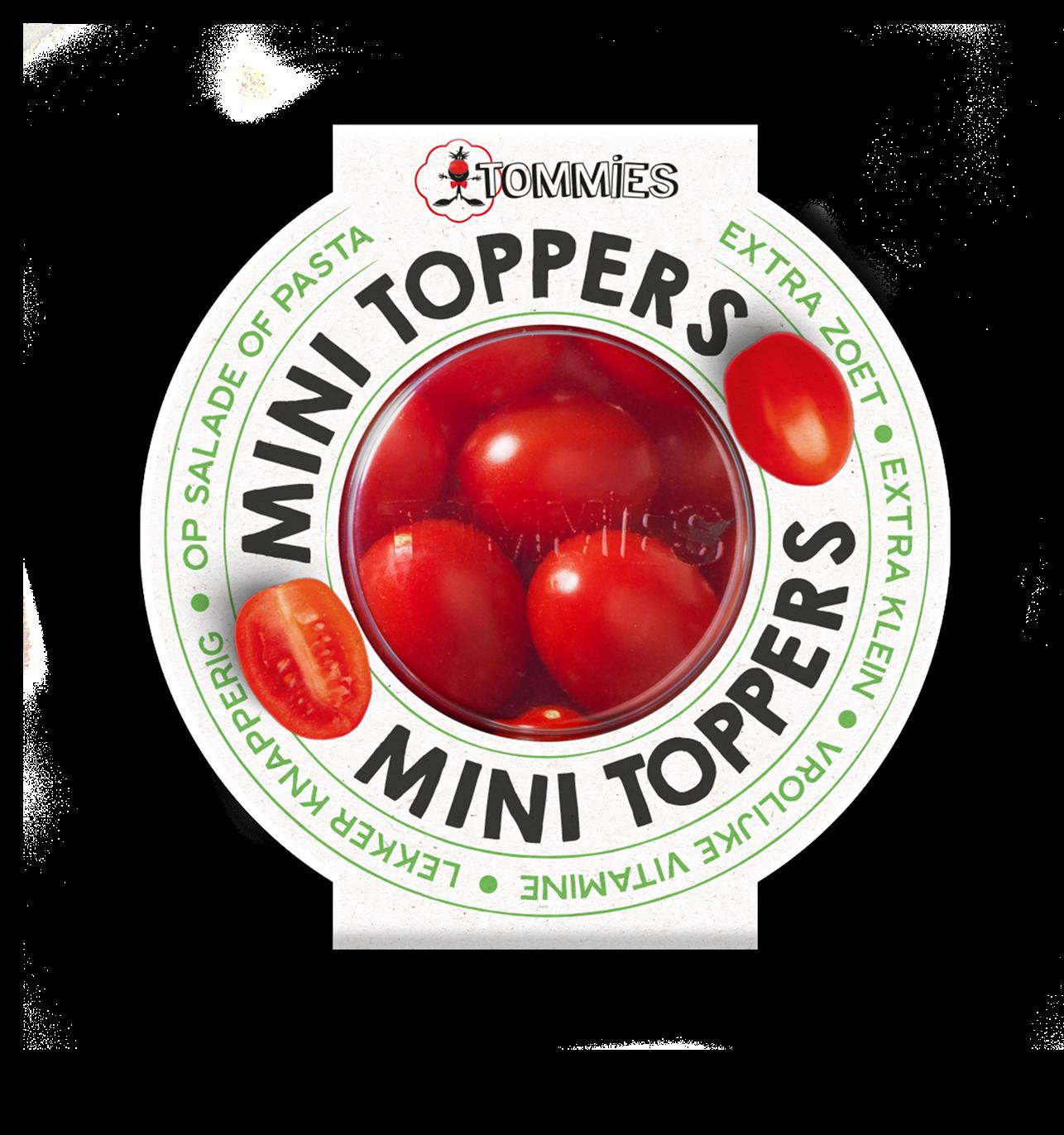 Tommies Mini toppers bakje