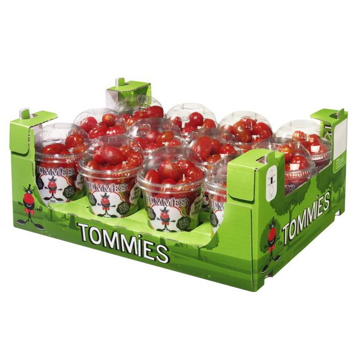 Tommies Snacktomaten rood 12 bekers à 250 gr