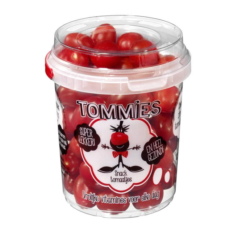 Tommies Snacktomaten rood 6 emmers