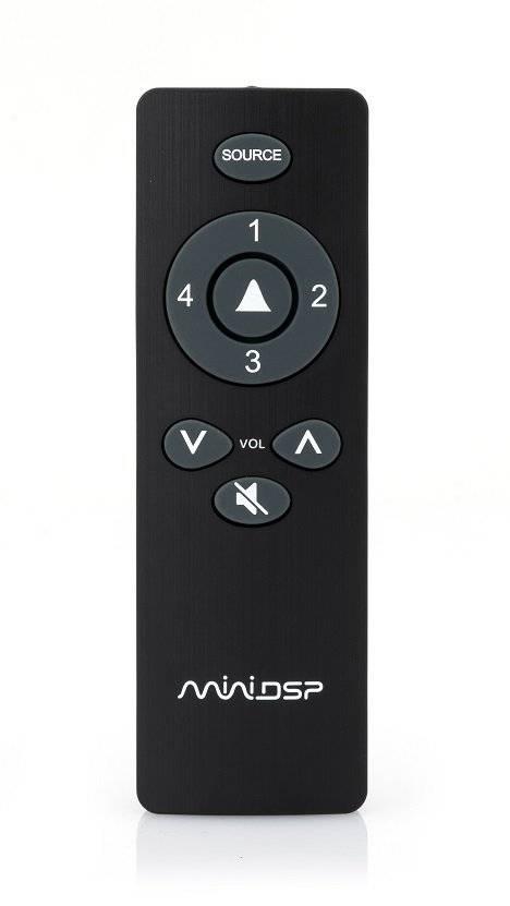 MiniDSP 2x4 HD - 4 kanaals audioprocessor, analoog, digitaal, USB in