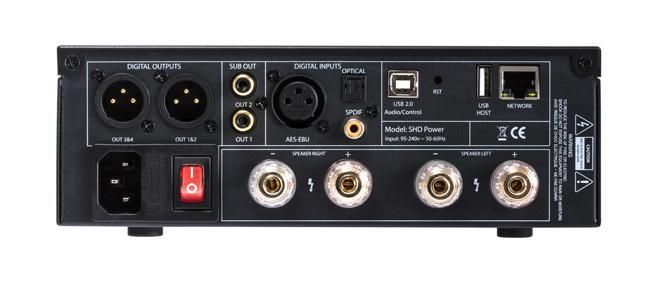 MiniDSP MiniDSP SHD Power:  Streaming Amplifier met Dirac®  live en DSP