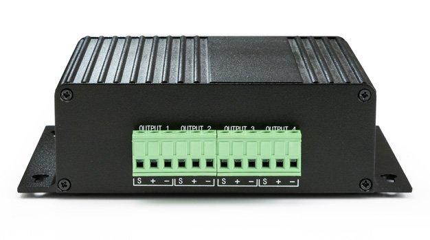 MiniDSP 2x4 - stereo in, 4 kanaals uit digitale audioprocessor (gebalanceerde in&uit)