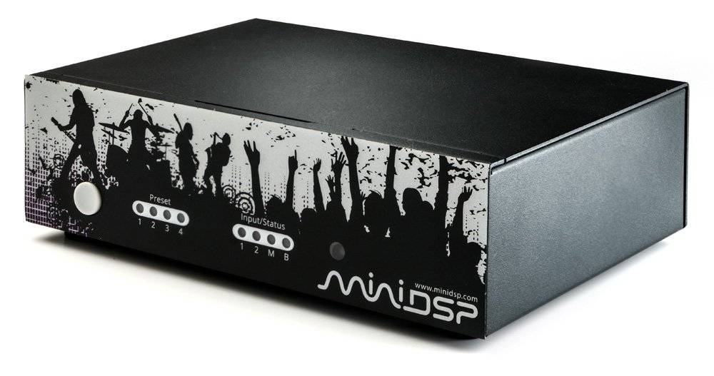 MiniDSP nanoAVR HDA - HT audio processor HDMI in & analoog uit