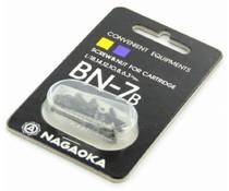 Nagaoka BN7b Screws Black