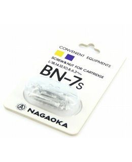Nagaoka BN7s Screws Silver